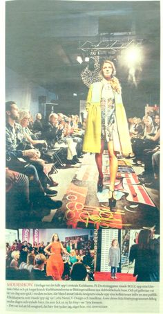 Mode AW14 Fashion show. Article in Sydöstran. LottaNiemi Fall14
