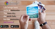 Get your memories to be printed on the sheet.#thePicFactory.
