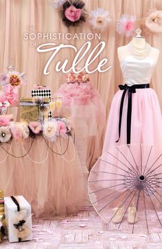Dreamy, drapey and undeniably romantic, tulle is the perfect fabric for any bride on a budget. Incorporate this sophisticated textile into your dream day with projects ranging from table toppers to party favors.