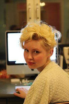 Johanna Ost's beautiful hair!