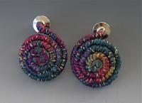 Mia Fiber Wire Earrings