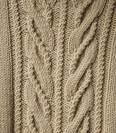 Free Wishbone pattern by Norah Gaughan