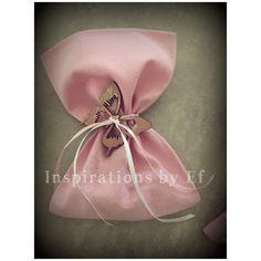 Μπομπονιέρα βάπτισης ροζ βαμβακερό πουγκί με ξύλινη πεταλούδα... Christening, Fashion Backpack, Backpacks, Baby, Inspiration, Ideas, Biblical Inspiration, Backpack, Baby Humor