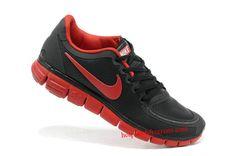 Womens Nike Free 5.0 Black Red