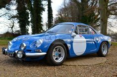 RENAULT - 1975 Renault Alpine A110 1300 built to 1971 Gordini Specification