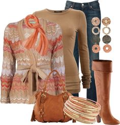 """""""Enjoying Fall"""" by my-pretend-closet ❤ liked on Polyvore"""