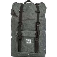 cdee8a02b4d8 Herschel Little America Mid Volume Backpack (395 ILS) ❤ liked on Polyvore  featuring bags