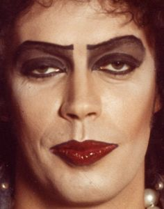 Tim Curry - Rocky Horror Picture Show. I've always thought he was super hot in this movie. And that VOICE. Tim Curry Rocky Horror, Rocky Horror Show, The Rocky Horror Picture Show, Dr Frankenfurter, Love Movie, Glam Rock, Illustration, How To Look Better, Celebs