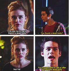 Holland Roden (Lydia) & Dylan O'Brien (Stiles) - Teen Wolf