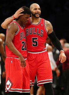 jimmy butler and carlos boozer