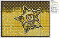 Pokemon - Staryu by Makibird-Stitching.deviantart.com on @DeviantArt