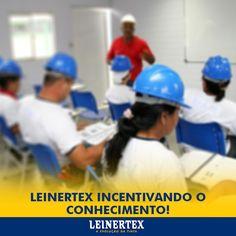 A empresa dentro de seus programas desenvolvidos, sempre procura dar oportunidade a todos, pensando assim a Leinertex tem uma parceria com o Sesi, fornecendo o curso de alfabetização aos colaborados que necessitam.  Leinertex incentivando o conhecimento! #Leinertex