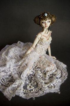 "https://flic.kr/p/7Sca5B | The Bride | One of a kind Enchanted Doll.  <a href=""http://www.enchanteddoll.com/galleries/bride/bride.html"" rel=""nofollow"">www.enchanteddoll.com/galleries/bride/bride.html</a>"