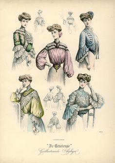 [De Gracieuse] Verschillende blouses (April 1904)