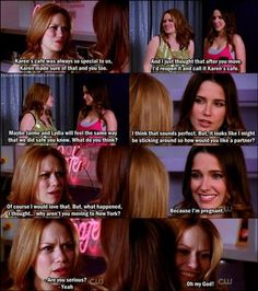 When Haley decided to reopen Karen's cafe • when Brooke wanted to be partners • when Brooke told Haley she was pregnant