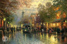 Paintings+of+Thomas+Kinkade