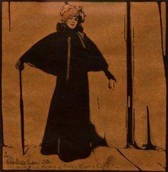 Sara Bernhardt (1844–1923)  William Nicholson (1872–1949)  Russell-Cotes Art Gallery & Museum