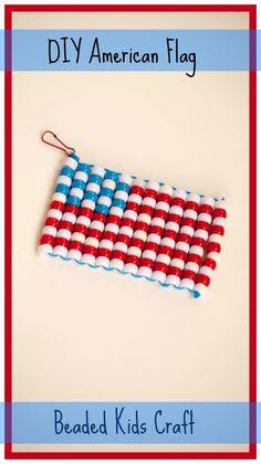 Bead American Flag Tutorial
