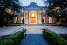 Neoclassical beauty, Highland Park, Texas