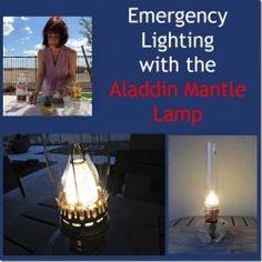 Review: Emergency Lighting with the Aladdin Mantle Lamp  Giveaway #prepper #survival