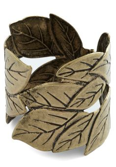 Fall for Foliage Bracelet, #ModCloth