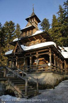 http://www.forvo.com/user/gorniak/  I'm not religious, but this wooden church near zakopane, poland is so beautiful