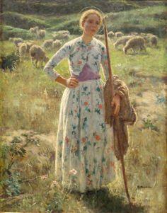 The Woman Gallery: Julius Garibaldi Melchers (1860 - 1932)