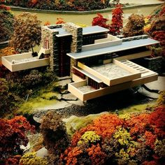 Fallingwater or Kaufmann Residence is a house designed by architect Frank Lloyd Wright in 1935 in rural southwestern Pennsylvania.