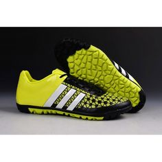 arrives 321fd ee238 2016 Adidas ACE15 1 TF Botas De Futbol In Fluo Verde Negro
