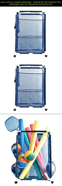 Pool and Ball Storage Organizer - Storage Bin for Swimming Pool Accessories | Kids Toy Storage Bin for Patios and Decks | Outdoor Quick Drying Clothing Basket for Beach, Pool Gear (Mildew Resistant) #a #storage #shopping #parts #plans #tech #camera #bin #wheels #technology #gadgets #racing #products #kit #fpv #drone