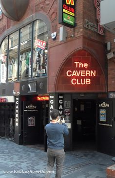 The Cavern Club in Liverpool where the Beatles were discovered. DUNHAVEN PLACE: Liverpool, the Beatles, Strawberry Fields (Forever), Penny Lane, the Cavern Club and the Beautiful River Mersey