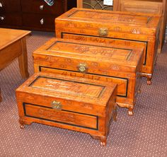 Camphor Wood Chests