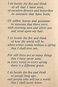 stoneofthehapless:    lingeronwithhope:    fire thoughts by perksofjenna on Flickr.    Bilbo's poem from the end ofThe Hobbit.