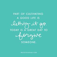 Letting Go. beckyhiggins.com