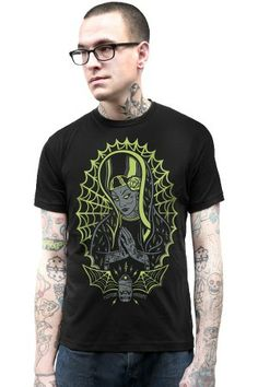 Brand new punk rock, tattoo & retro styled clothing, housewares & accessories. Kustom, Our Lady, Whats New, Punk Rock, T Shirts For Women, Monsters, Guys, Hubba Hubba, Mens Tops