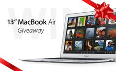 "Enter to Win the All New 13"" MacBook Air for free!"