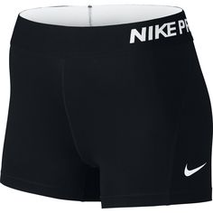 """Nike Women's Pro Cool 3"""" Compression Shorts at Amazon Women's Clothing store: Sports Related Merchandise"""