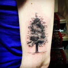 This intricate tree.   26 Stunning Tattoos For Nature Lovers