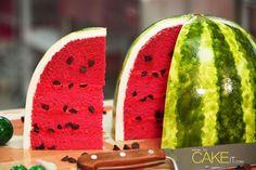 De beste watermeloen-cake die je ooit gaat zien
