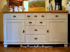 DesignDreams by Anne: Creating an Antique Look with Chalky Finish Paint