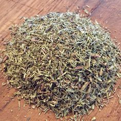 Thyme   Thymus vulgaris  A culinary & medicinal herb used to season stock, stews & soups. A wonderful addition to fish, bean, egg and vegetable dishes. A thyme tea infusion helps to treat coughs, bronchitis & upper respiratory tract inflammation. Contains expectorant and antiseptic properties.   #thyme #teathyme #medicinaltea #culinaryherb #gypsyherbshop
