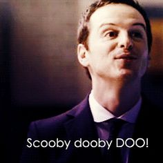 sherlock/ Doctor who characters in one GiF