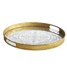 Medieval Mirrored Tray - wisteria.com, $79