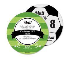 birthday invitations football tournament