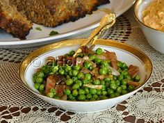 Peas Sauteed with Shallot and Prosciutto. A 5-minute recipe that is a gourmet treat. Serve these alongside your fanciest meal or with meatloaf, this recipe shines.