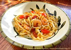"Feel and think better ... about shrimp! My long time talented friend Maryann Ridini-Spencer of @Maryann Ridini Spencer explains a delicious quick and easy dish she calls simply ... ""Shrimp Scampi Ridini""!"