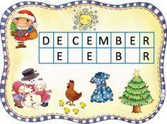 Advent Calendar, Alphabet, December, Education, Bambi, Holiday Decor, Alpha Bet, Educational Illustrations, Learning