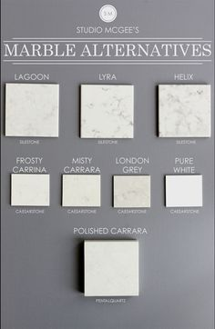 Watch List Alternatives to marble that look like marble! (Marble is beautiful but a PAIN in the you know what)Alternatives to marble that look like marble! (Marble is beautiful but a PAIN in the you know what) Silestone Lagoon, Lyra Silestone, Estudio Mcgee, London Grey Caesarstone, Frosty Carrina Caesarstone, Kitchen Countertop Materials, Kitchen Cabinets, Condo Kitchen, Diy Kitchen