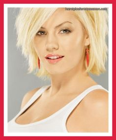 hairstyles for short hair with bangs and layers
