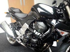 KAWASAKI Z1000 2007-2009 MGS Performance lower frame crash protectors bobbins in Vehicle Parts & Accessories, Motorcycle Parts, Other Motorcycle Parts | eBay